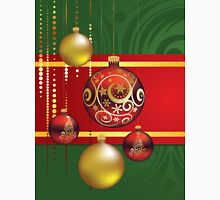 Red and Gold Christmas Balls 4 T-Shirt