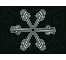 Ornament Snowflake 3 Photographic Print