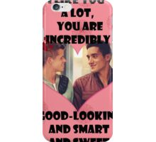 Happy Wolflantine [Danny & Ethan] iPhone Case/Skin