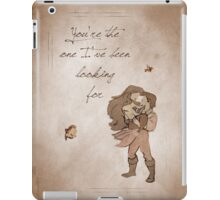 The Little Mermaid inspired valentine. iPad Case/Skin