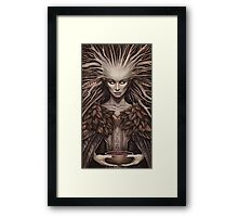The Hedgewitch Framed Print