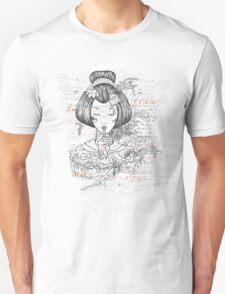Geisha Peace T-Shirt