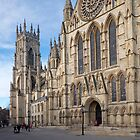 York Minster by John (Mike)  Dobson