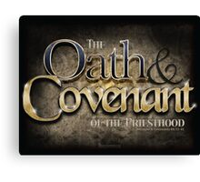 Oath & Covenant Canvas Print