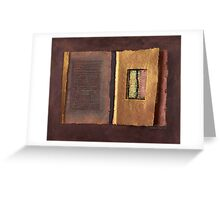 Page Format No.2 Transitional Series   Greeting Card