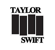 taylor swift black flag logo Photographic Print