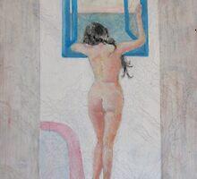 Bathroom Nude by Katfish