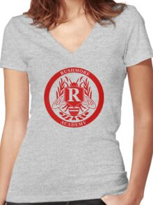 Rushmore Academy Women's Fitted V-Neck T-Shirt