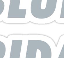 Blue Friday  Sticker