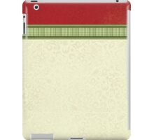 Red & Green Ribbon iPad Case/Skin
