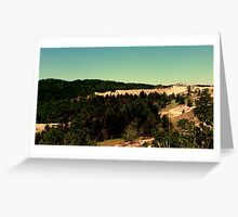 Wide Lens Greeting Card