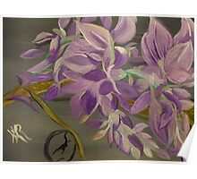 My Wisteria . . . A Fanciful Interpretation Poster