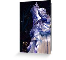 Mary in Blue Greeting Card