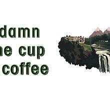 A damn fine cup of coffee by Lyubomir Gizdov