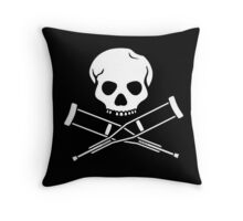 Try, try, try. Extreme sports. Throw Pillow