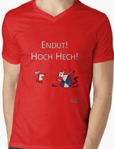 Рабочий И Паразит Mens V-Neck T-Shirt