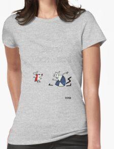 Рабочий И Паразит Womens Fitted T-Shirt