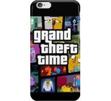 Grand Theft Time iPhone Case/Skin