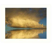 """Cloud Break!!"" Art Print"