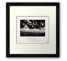 laughter Framed Print