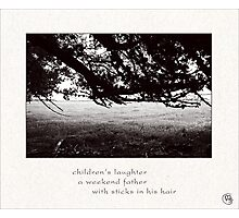 laughter Photographic Print