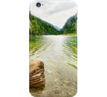 Petrimanu Lake in Romania iPhone Case/Skin