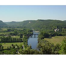 River Dordogne Photographic Print