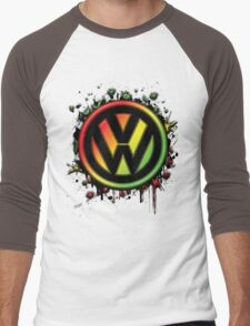 Reggae Volkswagen Men's Baseball ¾ T-Shirt