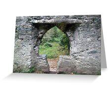 Muckross abbey entrance Greeting Card