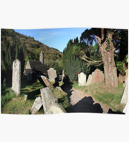 Glendalough cemetery  Poster