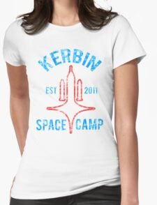 Kerbal Space Program - Kerbin Space Camp Womens Fitted T-Shirt