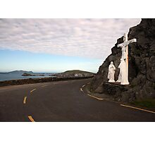 Slea Head grotto Photographic Print