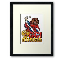 HOCKEY Framed Print