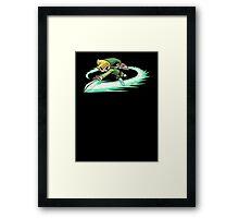Legend Of Zelda Wind Waker Framed Print