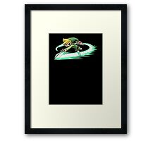 Legend Of Zelda Wind Waker Framed Print