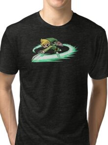 Legend Of Zelda Wind Waker Tri-blend T-Shirt
