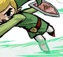 Legend Of Zelda Wind Waker Sticker
