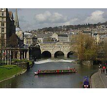 The Avon at Bath Photographic Print
