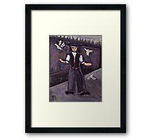 The pidgeon fancier Framed Print