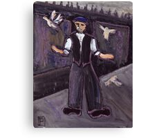 The pidgeon fancier Canvas Print
