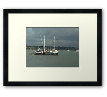 View from Pin Mill Framed Print
