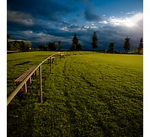 Playing fields 1 Photographic Print