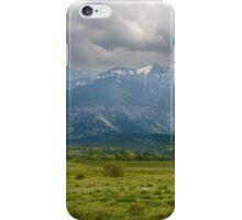 Mountain panorama iPhone Case/Skin