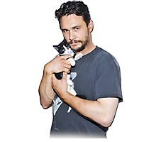 James Franco's Cat Photographic Print