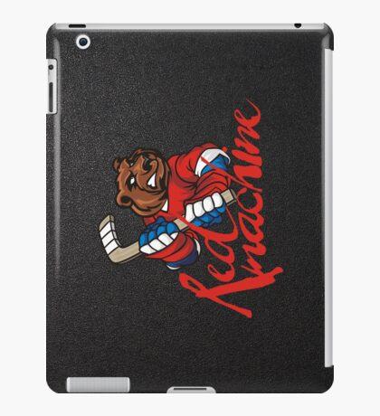 Hockey. Red machine. Russia. iPad Case/Skin