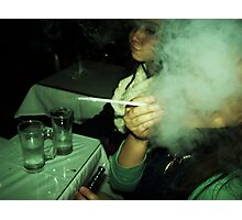 Hookah Mask Photographic Print