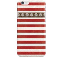 Fancy Red Stripes iPhone Case/Skin
