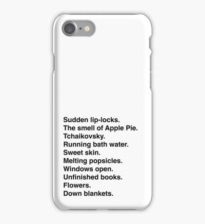 a few of my favorite things. iPhone Case/Skin