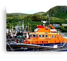 lifeboat Canvas Print