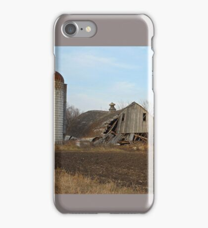 Old Abandoned Farms and Barns  iPhone Case/Skin